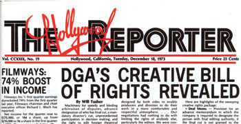 DGA Quarterly  Winter 2006 Bill of Rights