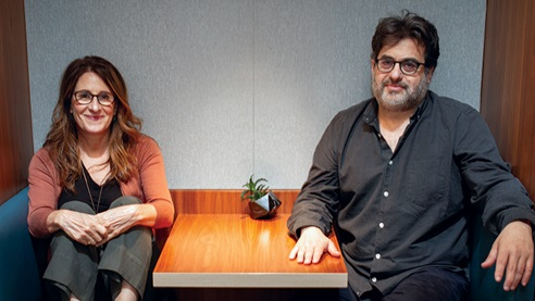 DGA Quarterly Magazine Fall 2018 Collaborators Nicole Holofcener Richard Frazen