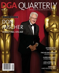DGA Quarterly Magazine Winter 2013 Don Mischer