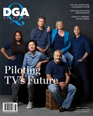 DGA Quarterly Magazine Winter 2017 Cover