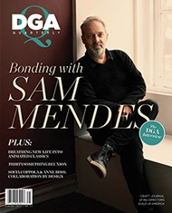 DGA Quarterly Magazine Spring 2017 Sam Mendes