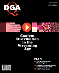DGA Quarterly Magazine Winter 2018