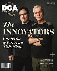 DGA Quarterly Magazine Spring 2019 Jon Favreau James Cameron