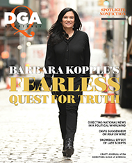 DGA Quarterly Magazine Winter 2020