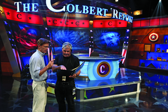 Jim Hoskins The Colbert Report director