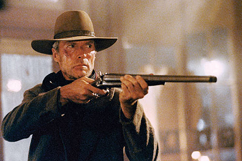 Unforgiven (1992): Eastwood directed himself as an aging gunslinger. - photo courtesy Warner Bros. Entertainment Inc.