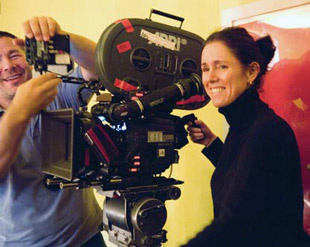 TRUE-TO-LIFE: Julie Taymor combines the realistic with the fantastic in Across the Universe. - photos by Abbot Genser/©2006 Revolution Studios Distribution Co., LLC. - click images for larger view and IMDB info.