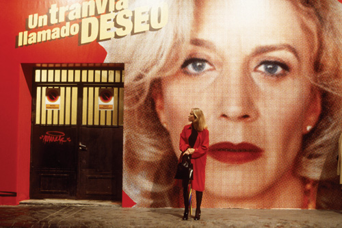 BRIGHT IDEA: Almodóvar's use of pop culture, bold imagery and exploding colors come together to create the emotional power of All About My Mother. - photo by Miguel Bracho/Sony Pictures Classics -