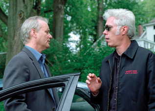 Jim Jarmusch directing Bill Murray in Broken Flowers (2005)