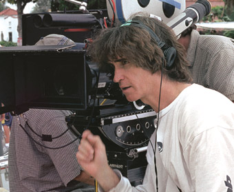 ACTION: Jay Roach looks like a director, acts like a director, but doesn't always feel like a director. - photos by Tracy Bennett/Universal Studios and DreamWorks LLC - click images for larger views and info.