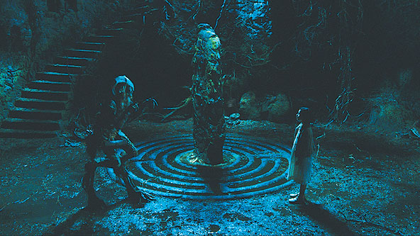 ENCHANTED: A fairy tale princess leaves her underground kingdom in Del Toro's Pan's Labyrinth. - Photo: Teresa Isasi/Picturehouse
