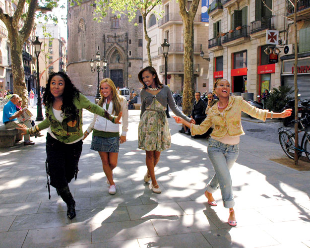 GOTTA DANCE: Director Kenny Ortega, who scored another hit with Cheetah Girls 2, was inspired by Hollywood's great director-choreographers, most of all his mentor Gene Kelly. - Photo by Salva Ayala/Disney Channel