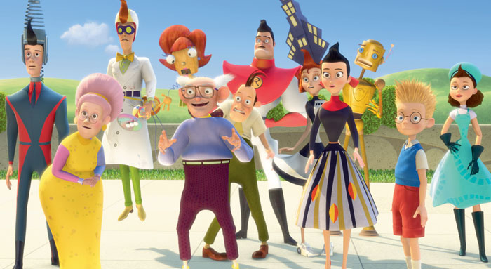 STATE OF THE ART: Meet the Robinsons' director Steven Anderson realized 3-D was not just a gimmick. - Photo courtesy of Disney Enterprises - click link for IMDB info