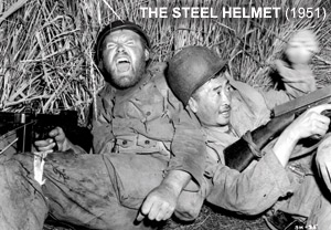 THE STEEL HELMET directed by Sam Fuller