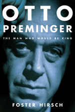 OTTO PREMINGER book by Foster Hirsch