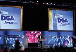 DGA Awards Stage