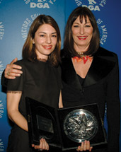 DGA Awards Sofia Coppola and Angelica Huston