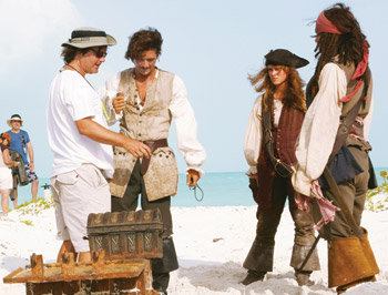 Gore Verbinski - Pirates of the Carribbean