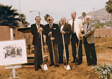 DGA Interview Gil Cates Ground Breaking DGA Headquarters