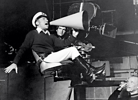 Mel Brooks directing Silent Movie