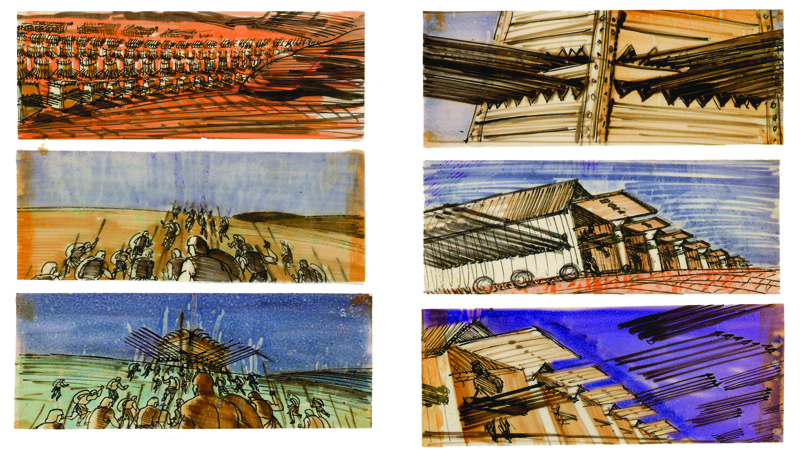 DGA Quarterly Spring 2011 Drawing Board Spartacus