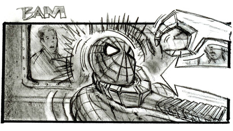Drawing Board Spider Man 2