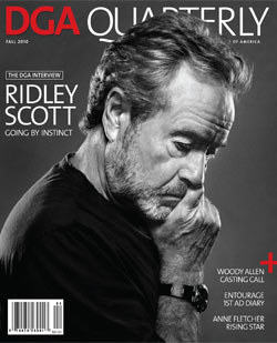 DGA Quarterly Magazine Fall 2010