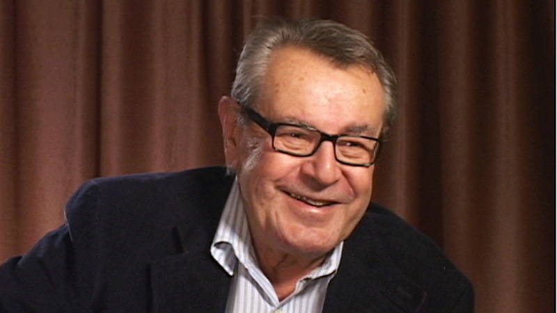 Miloš Forman interview
