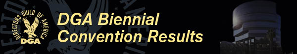 DGA Biennial Convention Results