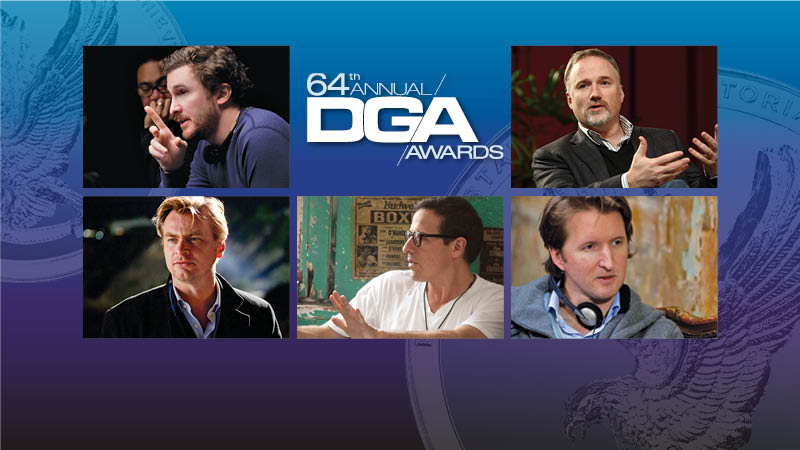64th DGA Awards Feature Film Nominees
