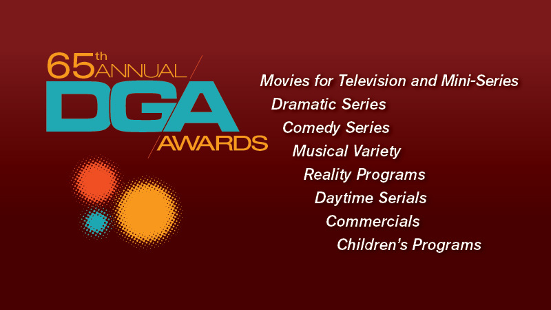 65th DGA Awards TV Nominees