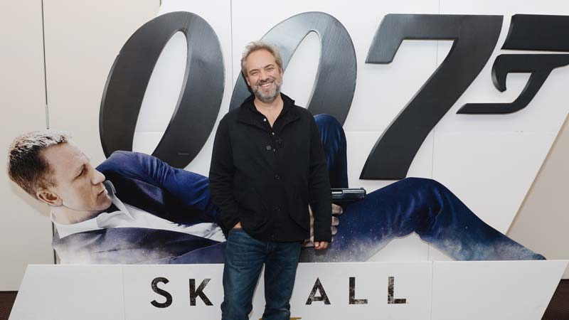 Skyfall screening with Sam Mendes