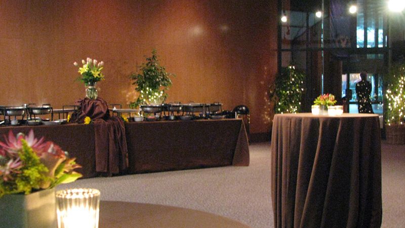 DGA Theater Event Rental Atrium & PAtio