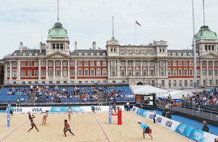 Directing the Olympics Beach Volleyball