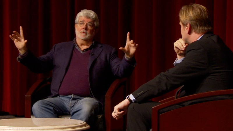 George Lucas Christopher Nolan Event