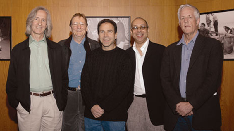 13th Annual Meet the Nominees: Movies for Television Symposium - Moderator Mick Garris, DGA Movies for Television Nominees Fred Schepisi, James Sadwith, George C. Wolfe and DGA President Michael Apted.