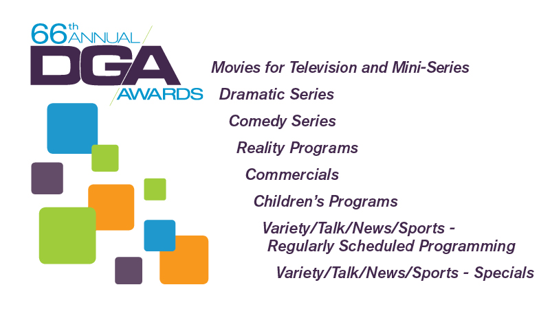 DGA 66th Awards Television Categories