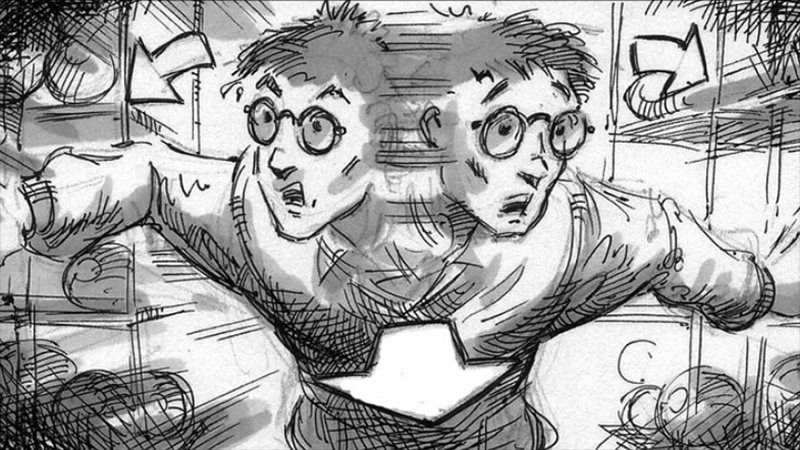 DGAQ Harry Potter Storyboards