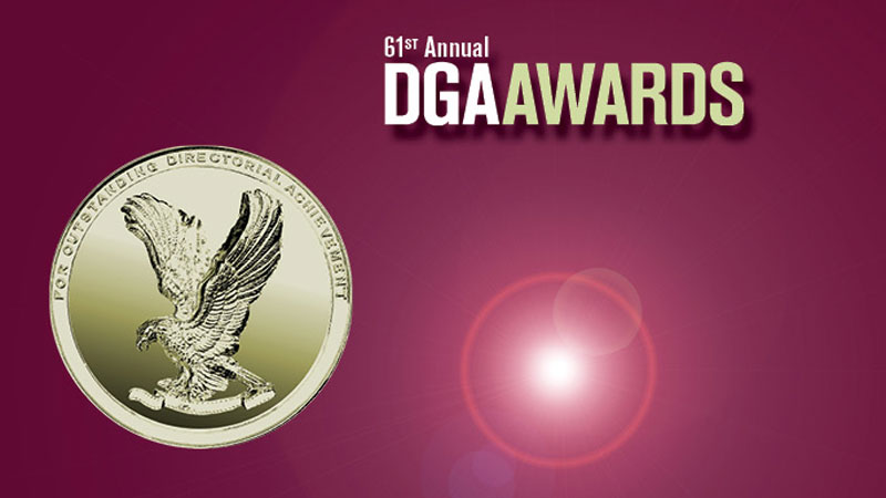 DGA Awards logo and art 2009