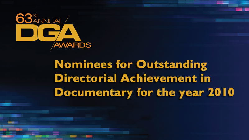 63rd Awards Doc Noms header