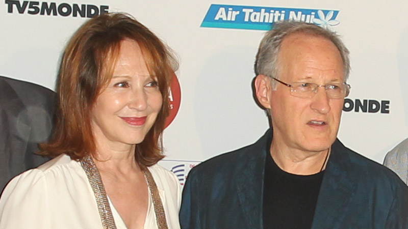 French actress Natalie Baye and DGA & FACF Board Member Michael Mann attend the opening night festivities.