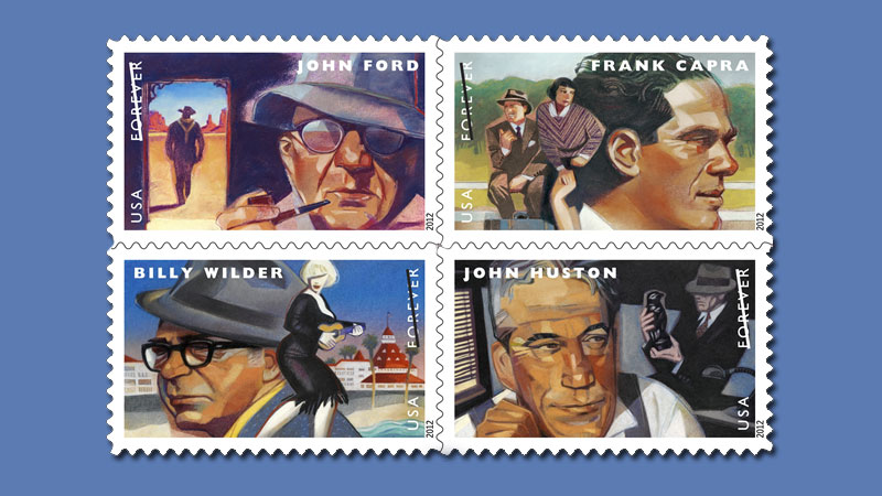 Great Directors Stamps Dedication