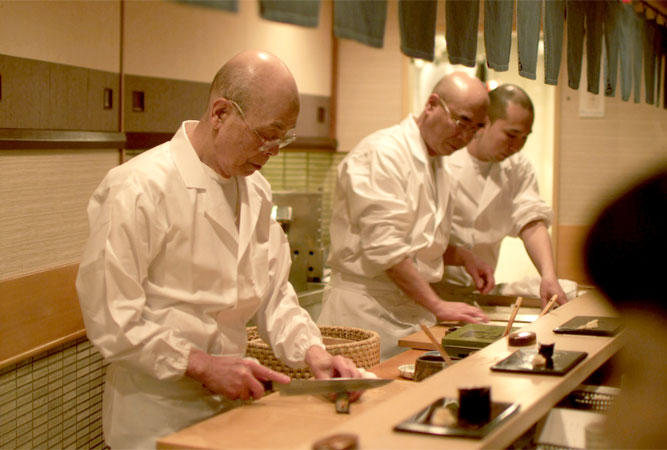Jiro Dreams of Sushi with David Gelb