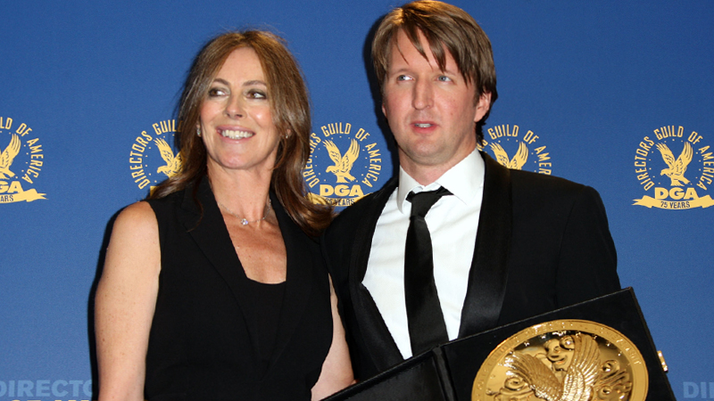 DAG Awards Tom Hooper Kathryn Bigelow