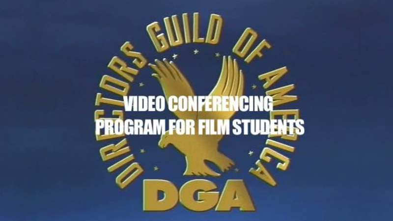 DGA Special Projects Student Videoconferencing