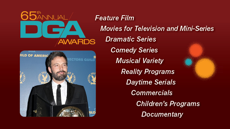 DGA Awards art
