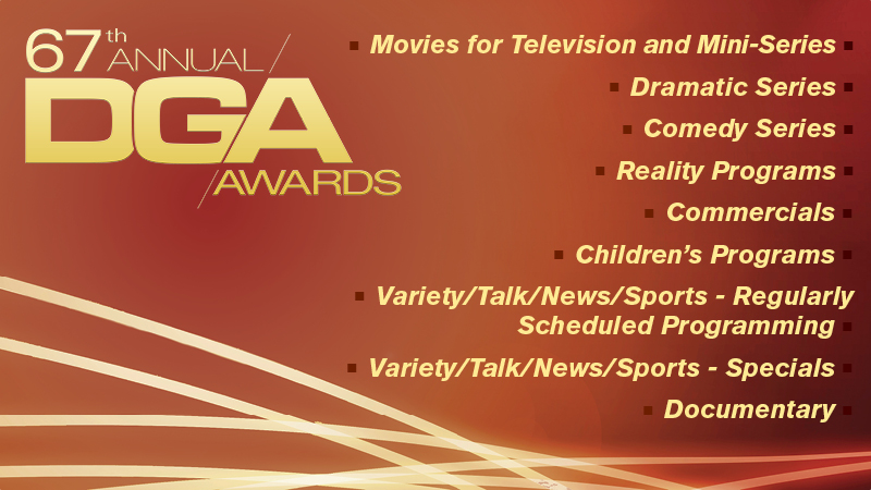 DGA 67th Awards Nominees