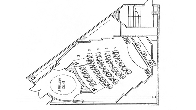 DGA Theater 3 Plot Plan
