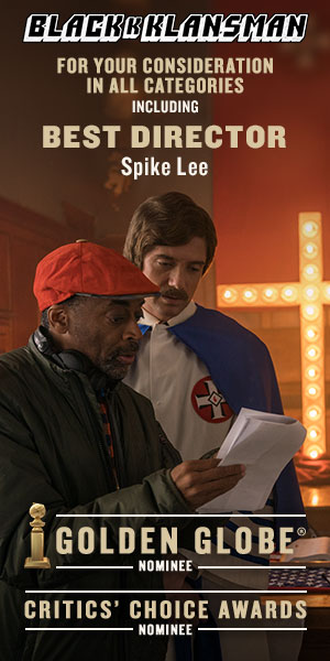 BlackKKlansman Spike Lee