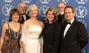 DGA President Martha Coolidge, DGA National VP and DGA Honors Event Chair Ed Sherin, Honoree Jane Alexander, Presenter Tipper Gore, DGA Sec./Treas. Gil Cates and DGA National Executive Director Jay D. Roth.